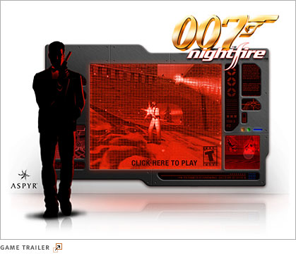 007 Nightfire game trailer
