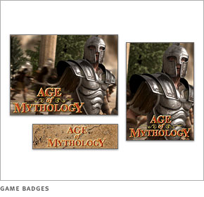 Age of Mythology game badges