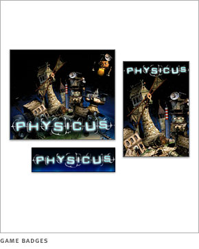 Physicus game badges