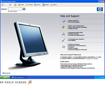 HP eHelp for HP computers